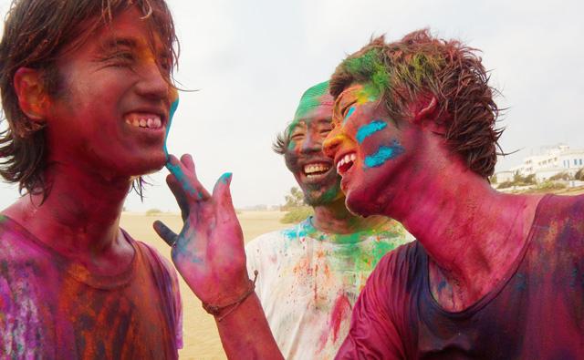 インド、ホーリー
