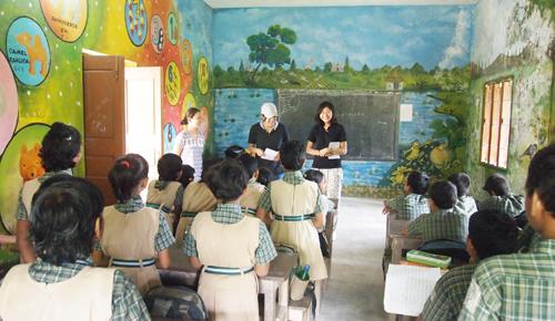 学校ボランティア