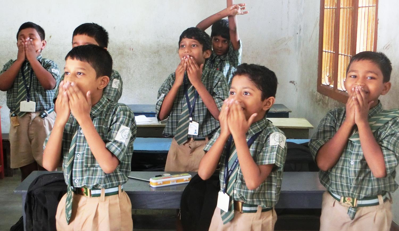 インド学校ボランティアツアー01